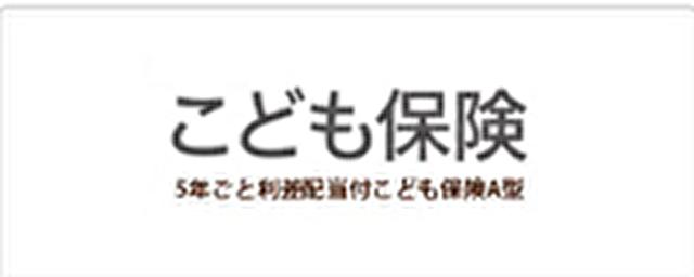 損保ジャパン日本興亜ひまわり生命の学資保険