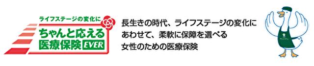 アフラック生命(ちゃんと応える医療保険レディースEVER)