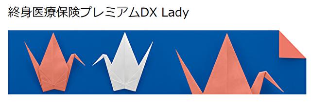 チューリッヒ生命(終身医療保険プレミアムDX Lady)