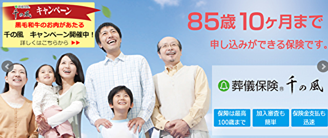 千の風(ベル少額短期保険)
